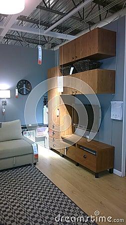 Modern Living Room Design Editorial graphy Image