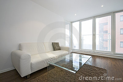White Leather Sofa In Living Room Royalty Free Stock Photography - Image:  26076797 - White Leather Sofa In Living Room Royalty Free Stock Photography