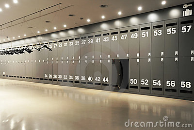 modern locker room royalty free stock photo image 12463615