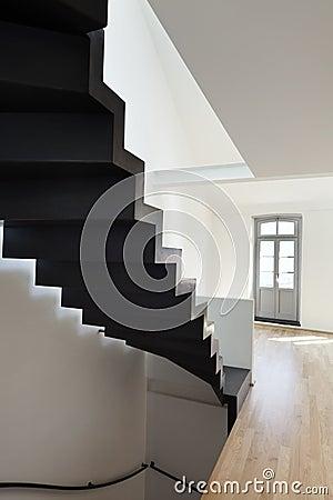 Modern loft, interior