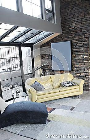 Modern loft studio interior