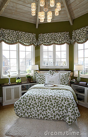 Modern luxury home bedroom