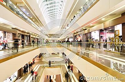 Modern mall