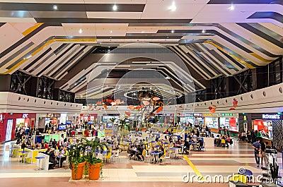 Modern Mall Editorial Image