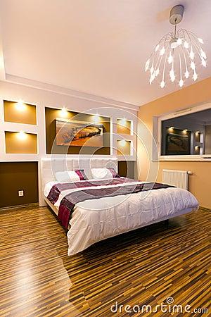 Free Modern Master Bedroom Interior Stock Photo - 25299810