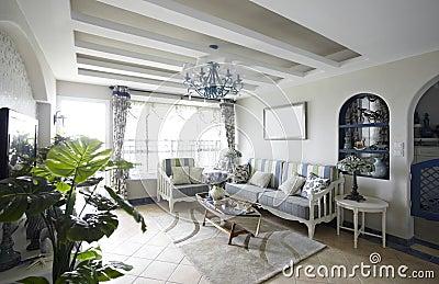 Modern Mediterranean-style home