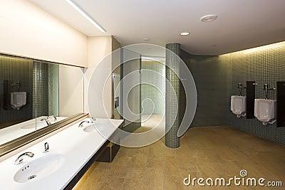 Modern men s room