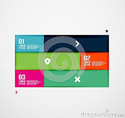 Modern minimal infographics
