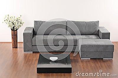 Modern Minimalist Living-room Stock Images - Image: 9247254