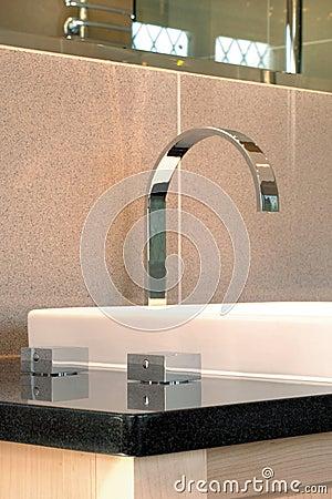 Modern mixer bathroom taps