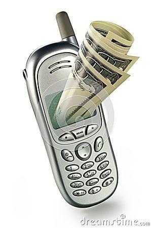 Free Modern Mobile Bank Royalty Free Stock Photo - 2207895