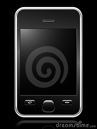 Free Modern Mobile Phone Royalty Free Stock Images - 8766629