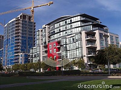 Modern multifamily housing
