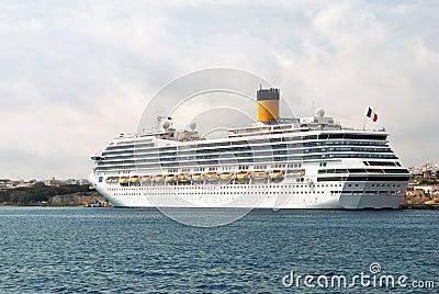 Modern nautical passenger ship
