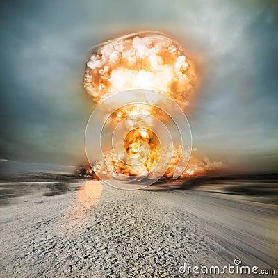 Modern Nuclear Explosion