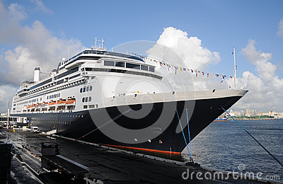 Modern ocean liner
