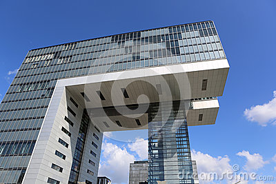 Modern Office Building Editorial Image
