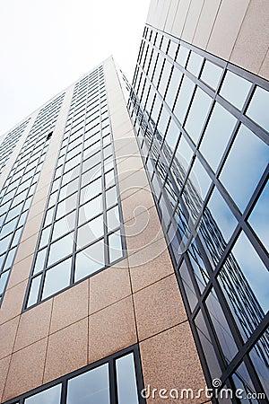 Modern office building in Amsterdam
