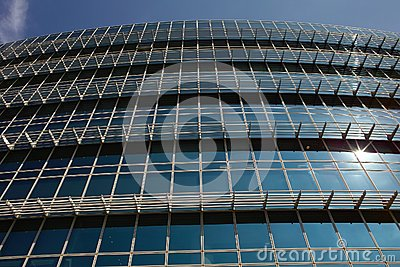 Modern Office Building Facade Royalty Free Stock Images - Image: 16918289