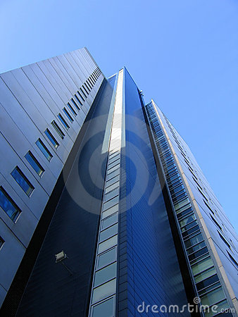 Free Modern Office Building In Liverpool Royalty Free Stock Photos - 445978