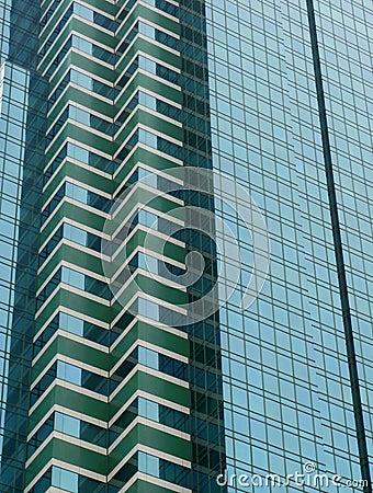 Modern Office Building Windows Patterns