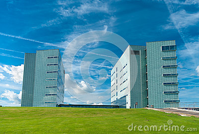 Modern office buildings Editorial Image