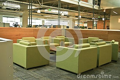 Modern Office Green chairs