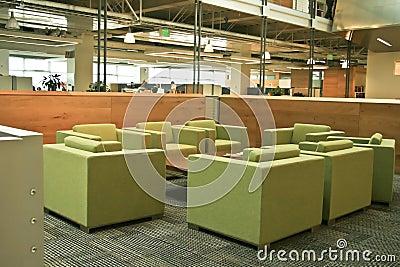 Modern Office Green chairs