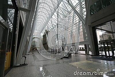 Modern Offices Building Atrium