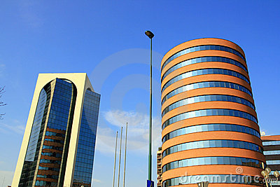 Modern Offices Buildings Royalty Free Stock Image - Image: 4269096
