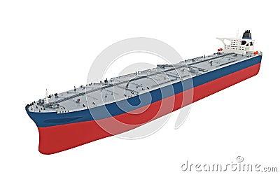 Modern oil tanker
