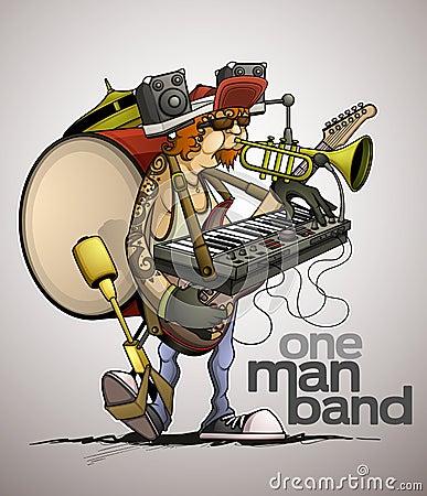 Modern one man band