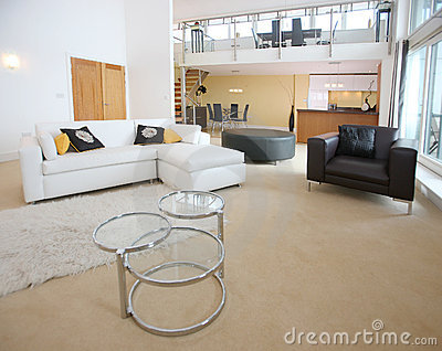 Modern Open Plan Apartment