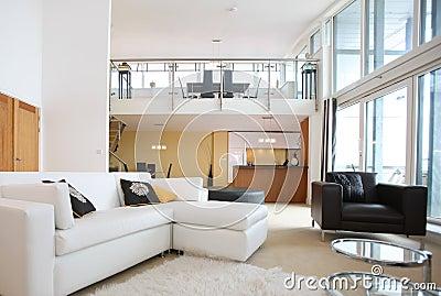 Modern Open Plan Apartment Interior