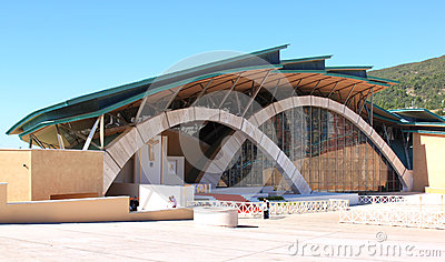 Modern Padre Pio Pilgrimage Church, Italy Editorial Stock Image