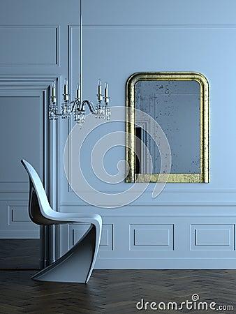 Modern Parisian interior 2
