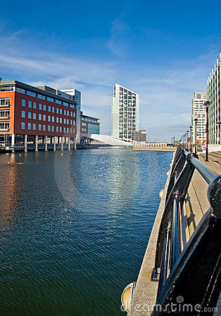 Free Modern Part Of Liverpool Stock Image - 11633661