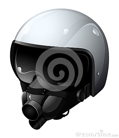 The modern pilot helmet