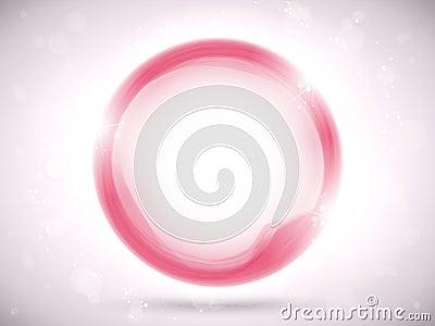 Modern Pink Circle Glowing Effects