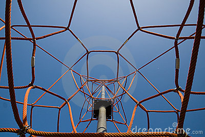 Modern Playground Attraction Stock Image - Image: 19116931