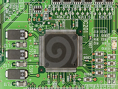 This is what circuit boards look like today