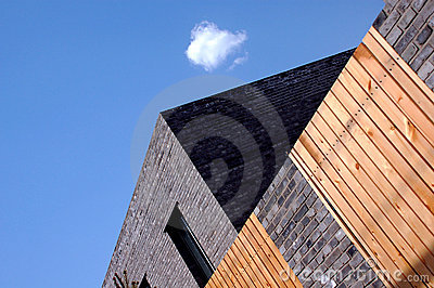 Modern Quadrate Building