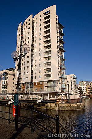 Modern Quayside Apartment Block