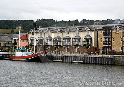 Modern quayside home