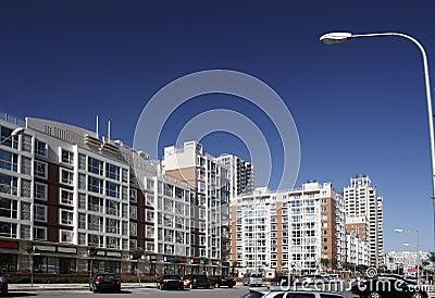 Modern residential area.