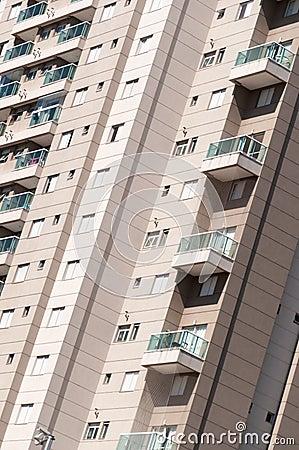 Modern residential building detail