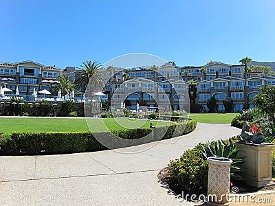 Modern resort complex