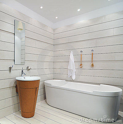 Modern restroom