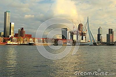 Modern Rotterdam Editorial Image