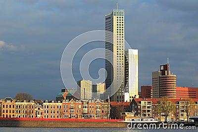 Modern Rotterdam Editorial Photo